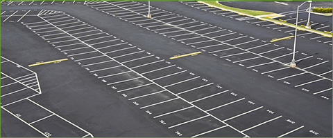 Parking Lot Striping near Grand Rapids, MI and West Michigan